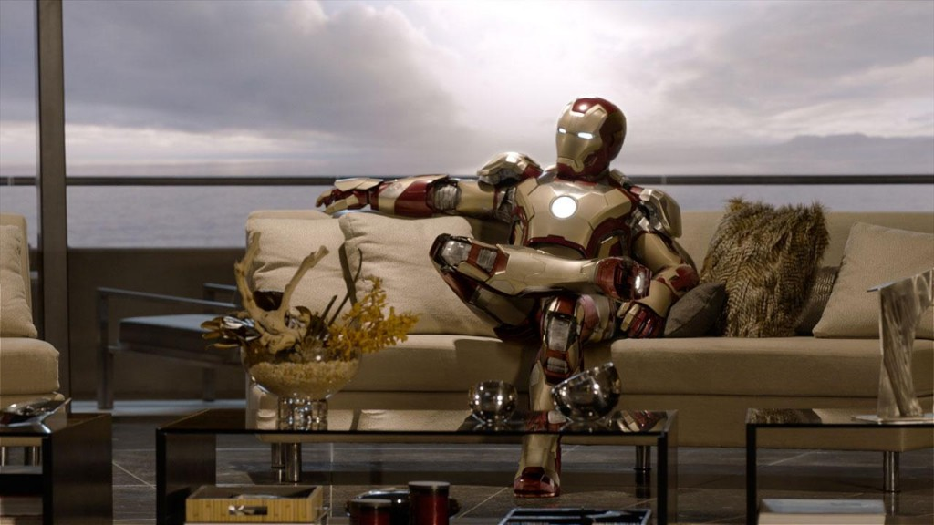 Iron Man relaxed